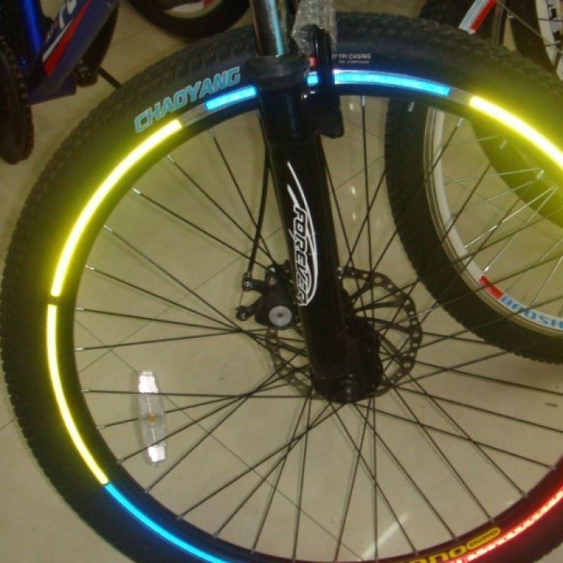 Odrazivé pásky na bicykl