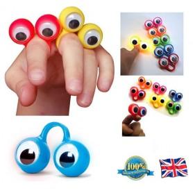 Oči na prsty svítící