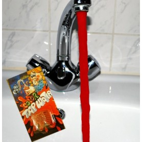 Krvavá voda z kohoutku