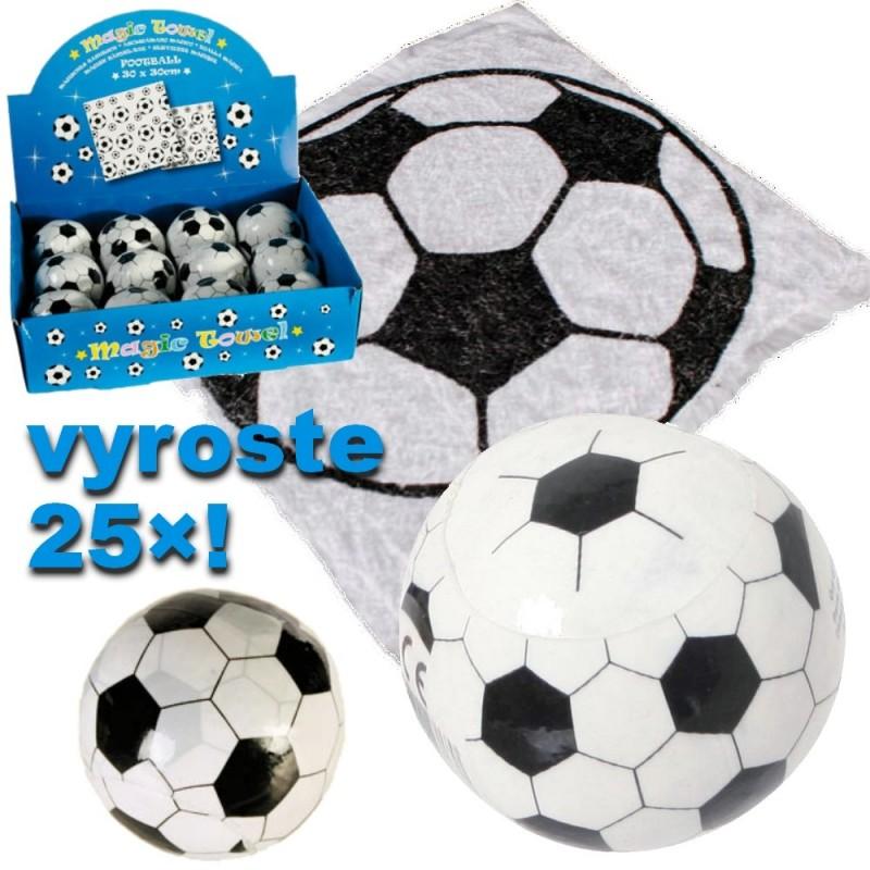 Magický instantní ručník - Fotbalový míč