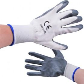 BAZAR: Pracovní rukavice s pogumováním
