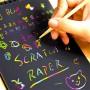 Vyškrabovací notes + dřevěné pero