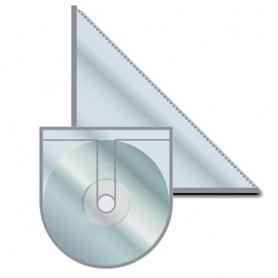 Sada samolepících kapes - univerzální + CD/DVD