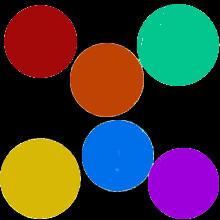 barevná neprůsvitná