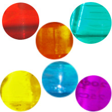 mix transparentní barvy