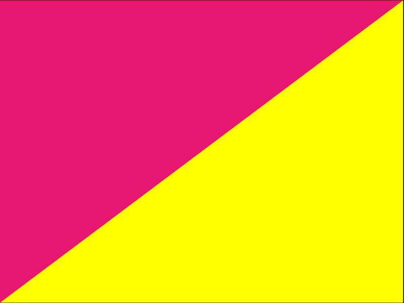 tmavorůžová+žlutá