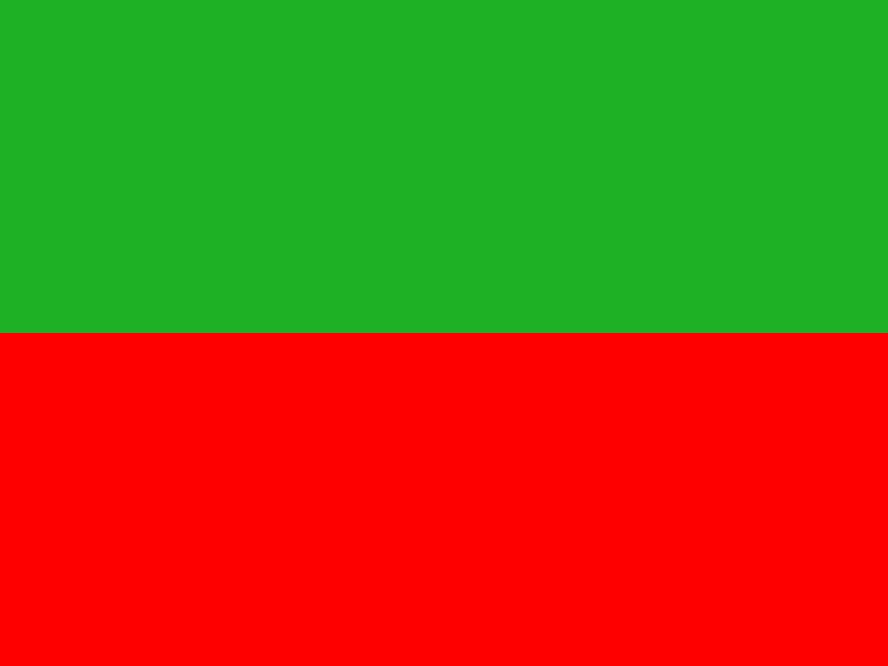 zelená+červená